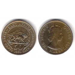 (36) Africa Oriental. 1954. 50 Cents (MBC+)