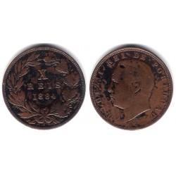 (526) Portugal. 1884. 10 Reis (MBC)