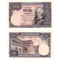 España. 1976. 5000 Pesetas (EBC) Sin Serie