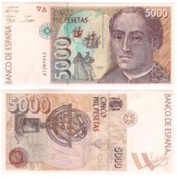 España. 1992. 5000 Pesetas (SC) Serie A