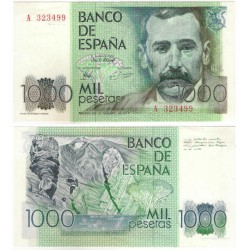 España. 1979. 1000 Pesetas (EBC+) Serie A