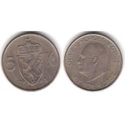 (412) Noruega. 1965. 5 Kroner (BC)