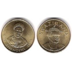 (45) Suazilandia. 1995. 1 Lilangeli (SC)