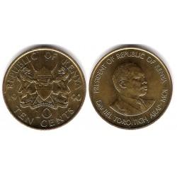 (18) Kenia. 1990. 10 Cents (EBC+)