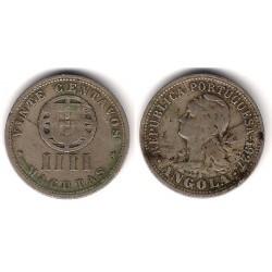 (68) Angola. 1927. 4 Macutas (BC+)