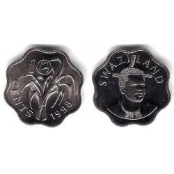 (49) Suazilandia. 1998. 10 Cents (SC)