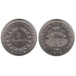 (187.2) Costa Rica. 1978. 2 Colones (MBC+)