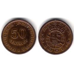 (75) Angola. 1961. 50 Centavos (MBC+)