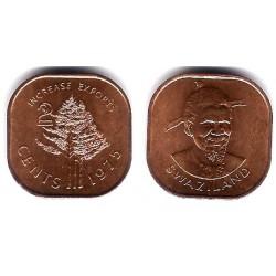 (22) Suazilandia. 1975. 2 Cents (EBC-)
