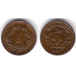 (3.2) Suiza. 1937(B). 1 Rappen (EBC)