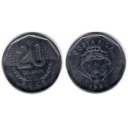 (216.2) Costa Rica. 1985. 20 Coones (MBC)