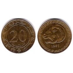 (118) Algeria. 1987. 20 Centimes (MBC)