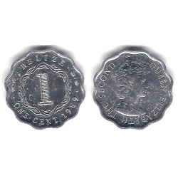 (33a) Belice. 1989. 1 Cent (EBC+)