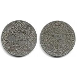 (Y36) Marruecos. 1921. 1 Franc (MBC)