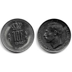 (57) Luxemburgo. 1980. 10 Francs (MBC)