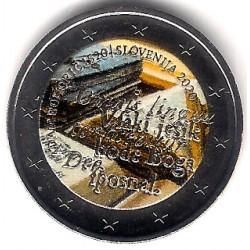 Eslovenia. 2020. 2 Euro (SC) Coloreada