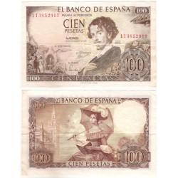 Estado Español. 1965. 100 Pesetas (MBC-) Serie 1M