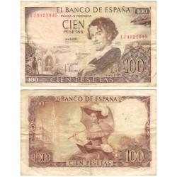 Estado Español. 1965. 100 Pesetas (BC) Serie 1J