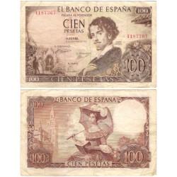 Estado Español. 1965. 100 Pesetas (BC) Sin Serie
