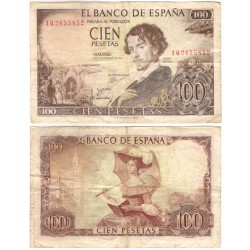 Estado Español. 1965. 100 Pesetas (BC) Serie 1Q