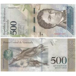 (94b) Venezuela. 2017. 500 Bolivares (SC)