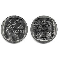 (139) Sudáfrica. 1990. 2 Rand (MBC)
