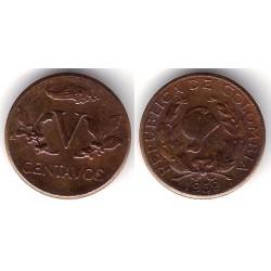 (206) Colombia. 1959. 5 Centavos (SC)