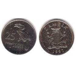 (29) Zambia. 1992. 25 Ngwee (EBC)