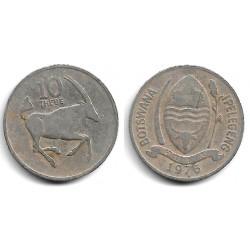 (5) Botswana. 1976. 10 Thebe (BC-)