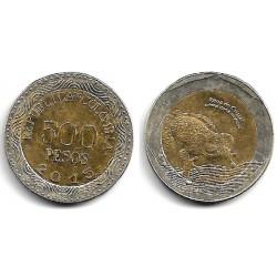 Colombia. 2015. 500 Pesos (EBC)