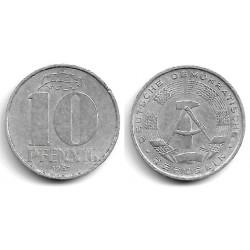(10) Alemania Democrática. 1967(A). 10 Pfennig (BC+)
