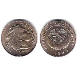 (212.2) Colombia. 1963. 10 Centavos (EBC)