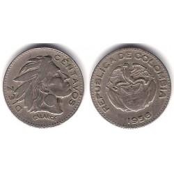 (212.2) Colombia. 1956. 10 Centavos (MBC)