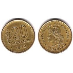 (67) Argentina. 1970. 20 Centavos (MBC)