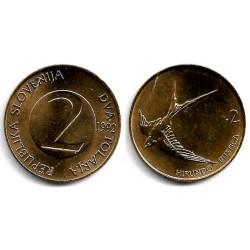 (5) Eslovenia. 1992. 2 Tolarjev (EBC)