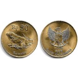 (52) Indonesia. 1996. 50 Rupiah (SC)