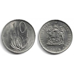 (85) Sudáfrica. 1978. 10 Cents (EBC)