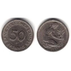 (109.1) Alemania. 1949(D). 50 Pfennig (MBC)