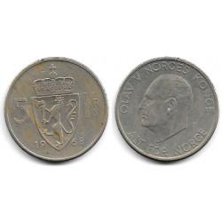 (412) Noruega. 1968. 5 Kroner (MBC-)
