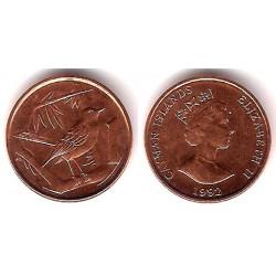 (87a) Islas Caimán. 1992. 1 Cent (EBC+)