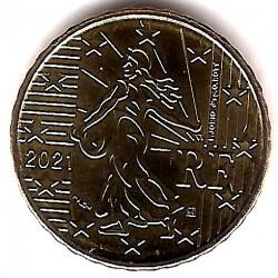 Francia. 2021. 10 Céntimos (SC)