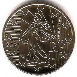 Francia. 2021. 50 Céntimos (SC)