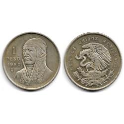 (457) Estados Unidos Mexicanos. 1950. 1 Peso (EBC-) (Plata)