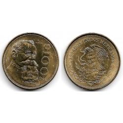 (493) Estados Unidos Mexicanos. 1992. 100 Pesos (EBC)