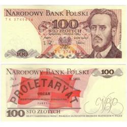 (143e) Polonia. 1988. 100 Zlotych (SC)