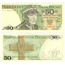 (142c) Polonia. 1988. 50 Zlotych (SC-)