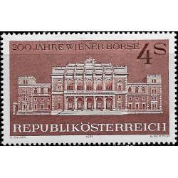 Austria. 1971. 4 Schilling. 200 Años Bolsa de Viena (Nuevo)