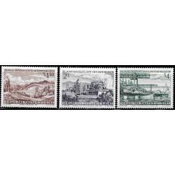 Austria. 1971. Serie Completa. 25 Aniv. Empresas Nacionalizadas (Nuevo)