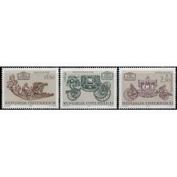 Austria. 1972. Serie Completa. Tesoros Artítsticos (Nuevo)