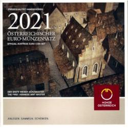 Austria. 2021. Cartera Oficial (SC)